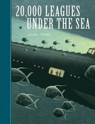 Book cover: 20,000 Leagues Under the Sea