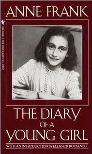 diary of anne frank. Book cover of : Anne Frank:
