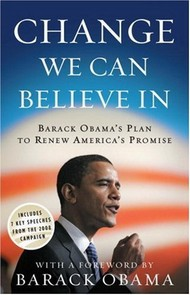 tapa del libro: Change We Can Believe In: Barack Obama
