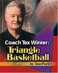 tapa del libro: Coach Tex Winter: Triangle Basketball
